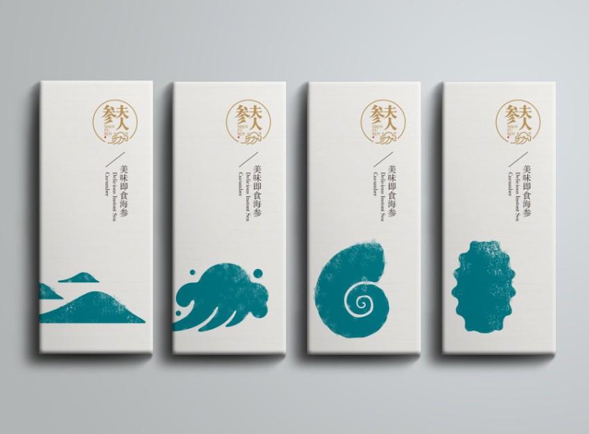 """上海包装设计-""""参夫人""""品牌包装设计_子木设计-上海"""