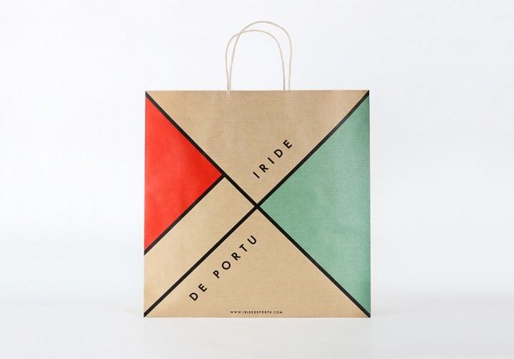 上海包装设计-鞋盒子撞色包装设计
